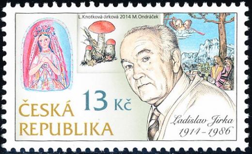 Tradice české známkové tvorby: Ladislav Jirka, rytec (1914 - 1986)