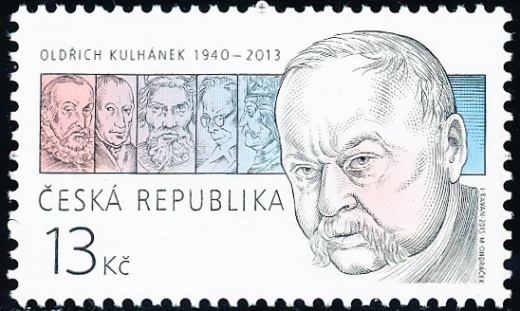 Tradice české známkové tvorby - Oldřich Kulhánek