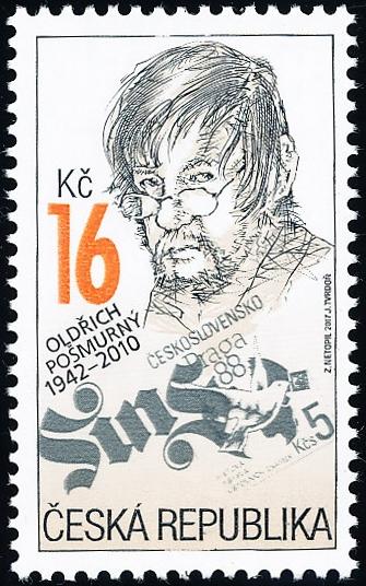 Tradice české známkové tvorby - Oldřich Pošmurný