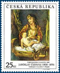 Umělecká díla na známkách 2006