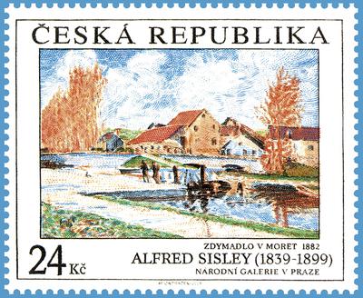 Umělecká díla na známkách 2009