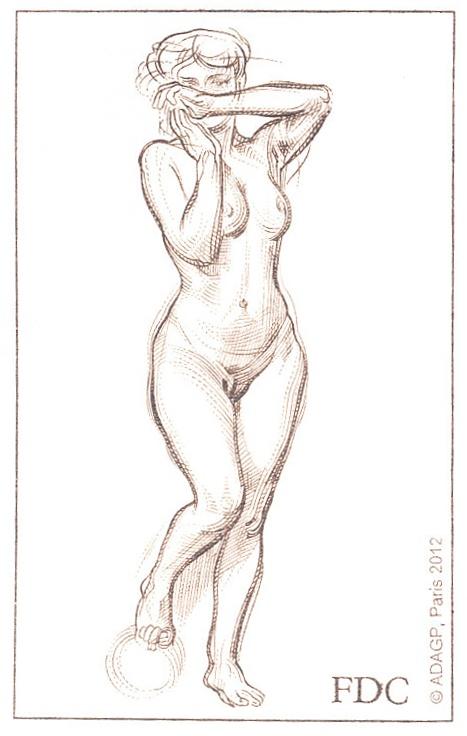 Umělecká díla na známkách: František Kupka (1871 - 1957)