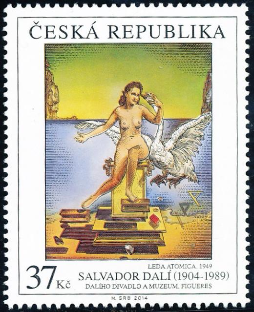 Umělecká díla na známkách: Salvador Dalí (1904 – 1989)