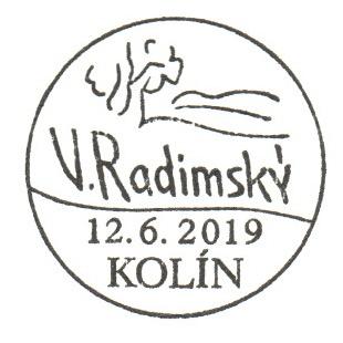 Umělecká díla na známkách - Václav Radimský