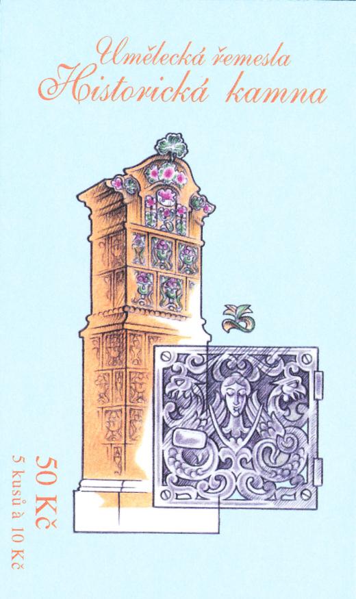 Umělecká řemesla: Historická kamna - Secese