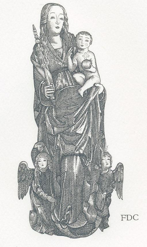 Umenie: Gotická madona z Ľubice