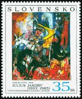 Umenie -  Július Jakoby: Don Quijote