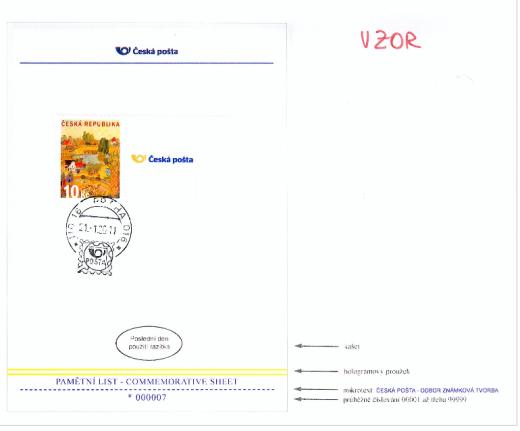 Unikátní příležitost pro specializované sběratele českých známek i milovníky umění