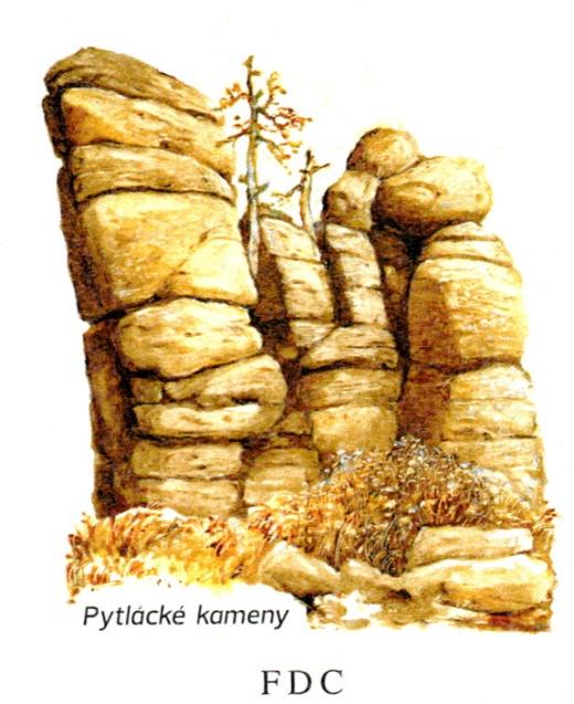 Unikátní skalní útvary