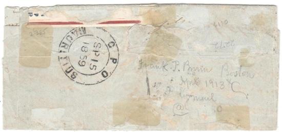 Unikátní skládaný dopis odeslaný 15. 9. 1859 z ostrova MAURITIUS na  RÉUNION se známkami 2 pence