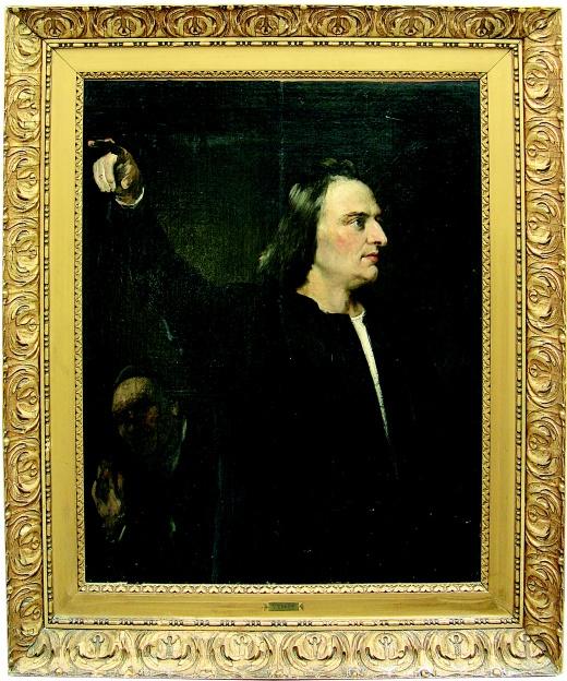 Václav Brožík a jeho umělecké dílo Kolumbus na poštovní známce USA