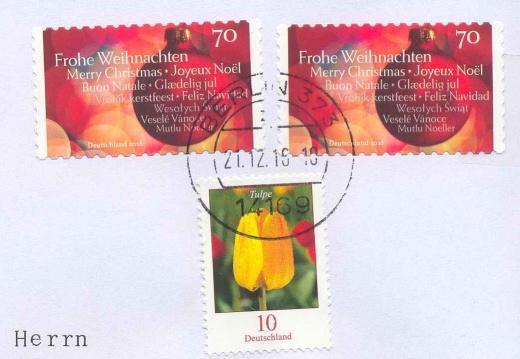 Vánoční pošta z Německa