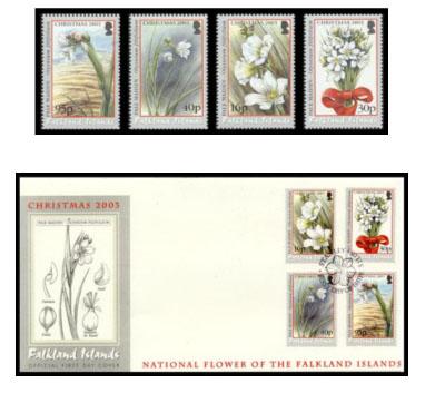 Vánoční známky Falkland