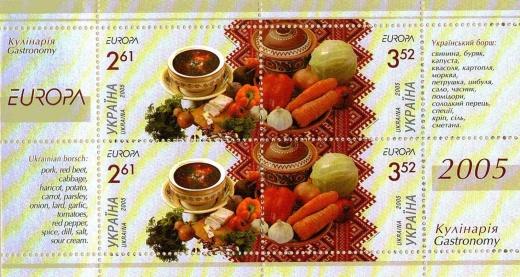 Vaříme podle poštovních známek