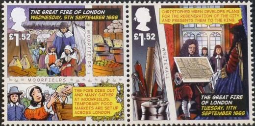 Velký požár Londýna 1666