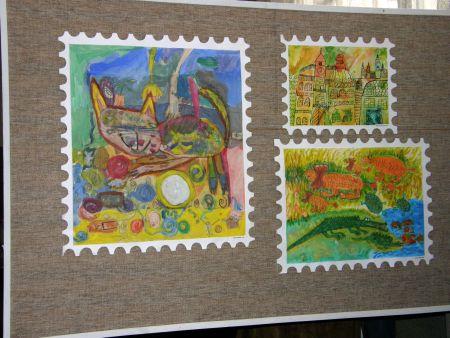 Vernisáž výstavy Poštovní známky očima dětí