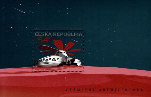 Vesmírná architektura - aršík