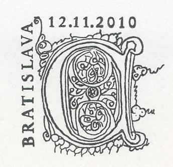 Vianoce 2010: Iniciála s Narodením Krista z Bratislavského misála