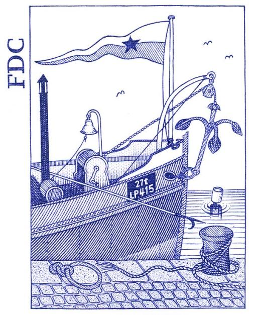 Vlečný remorkér - parník Péčko
