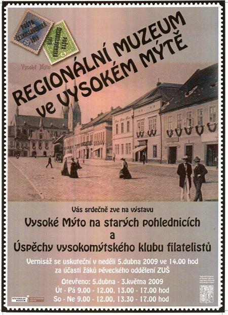 Vysoké Mýto na starých pohlednicích a Úspěchy vysokomýtského klubu filatelistů