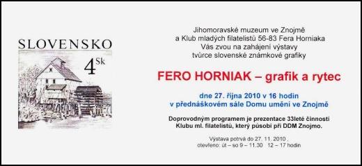 Výstava Fero Horniak - grafik a rytec