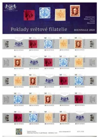 Výstava - Poklady světové filatelie v národním muzeu v Praze