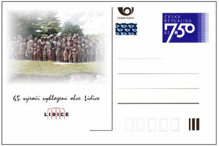 Výstava poštovních známek s tématikou Lidic