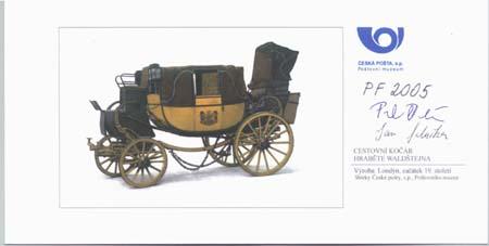Výstavní program Poštovního muzea  -  r. 2005 – 1. pololetí