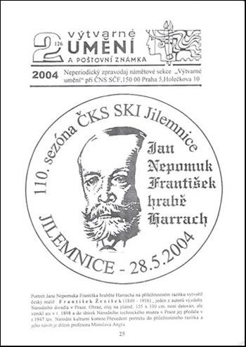 Výtvarné umění a poštovní známka číslo 2/2004