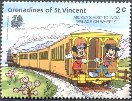 Walt Disney a barevný svět známek