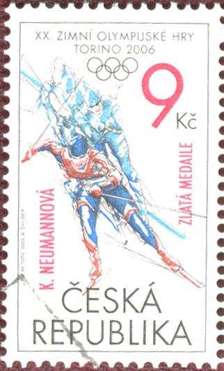 XX. zimní olympijské hry, TORINO 2006 - K.NEUMANNOVÁ – zlatá medaile
