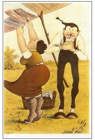 Z historie pohlednic: Pohlednice humorné