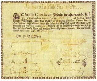 Základy notafilie - bankovky - základní charakteristika - typy bankovek