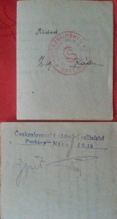 Zaujímavý historický - (aj poštový?) dokument