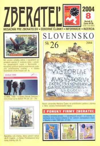 Zberateľ číslo 8/2004