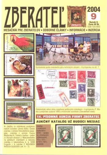 Zberateľ číslo 9/2004