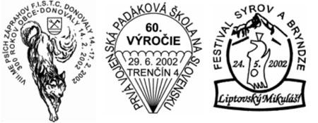 Zberateľ: Nad príležitostnými pečiatkami roka 2002
