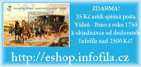 ZDARMA! 35 Kč aršík spěšná pošta Vídeň - Brno z roku 1750