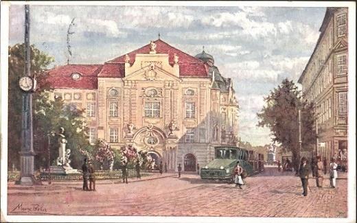 Známka k 125. výročí městské hromadné dopravy v Bratislavě