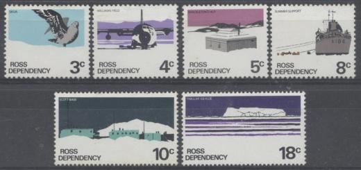 Známky Rossovej dependencie v Antarktíde