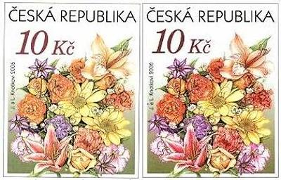 Zpravodaj 03/2009: Výplatní poštovní známky skupony určenými pro přítisk (II)