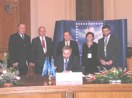 Zpravodaj 1/2005: 23. Kongres Světové poštovní unie
