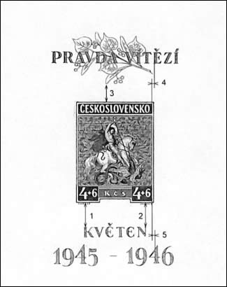 Zpravodaj 2/2003: Dvacátá čtvrtá deska aršíku Květen 1946