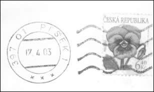 Zpravodaj 2/2003: Padělky ke škodě pošty na pokračování