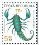 Zpravodaj 2/2006: Znamení zvěrokruhu -  č. 241 Štír 5,40 Kč