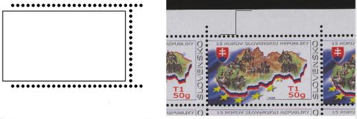 Zpravodaj 2/2008: Zaujímavosti zúbkovania slovenských známok tlačených ofsetom v PTC Praha