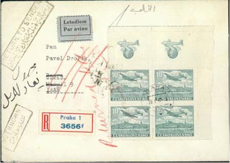 Zpravodaj 3/2004: Atraktivní  a kuriózní celistvosti s leteckými  známkami - III