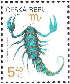 Zpravodaj 3/2005: Litoměřický objev na známce Pofis č. 241 - štír