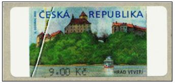 Zpravodaj 3/2006: Výplatní poštovní známka Hrad Veveří