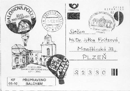Zpravodaj 3-4/2002: Balonový let ve Žďáru nad Sázavou